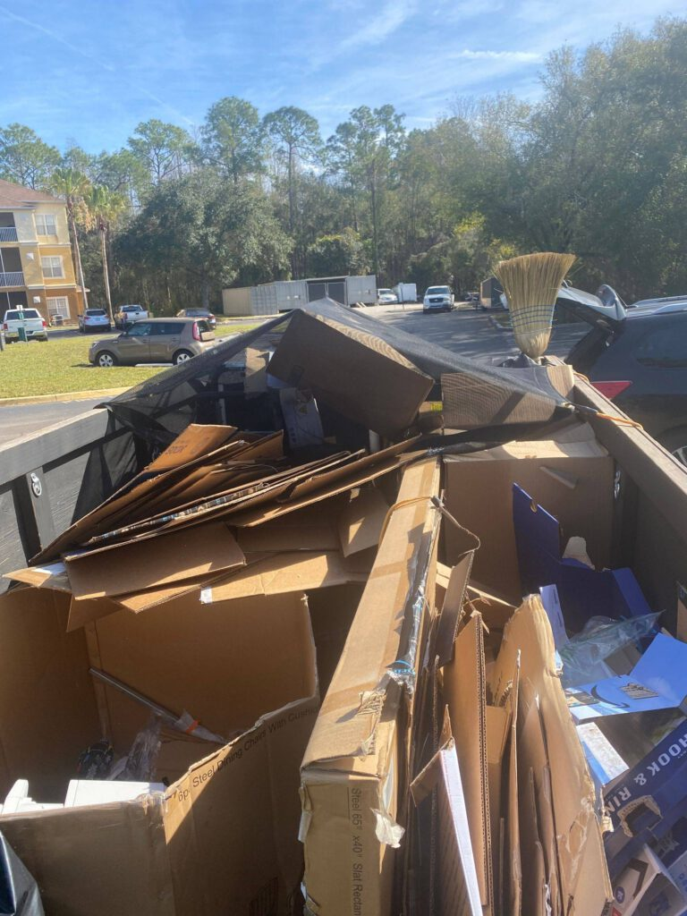 trailer haul, junk removal, Land O Lakes FL